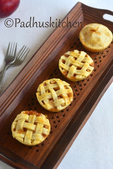 Mini Apple Pie Recipe-Eggless Apple Pie Recipe