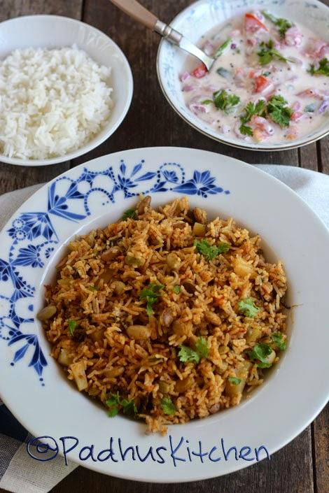 Mochai Kottai Biryani-Mochai Recipes