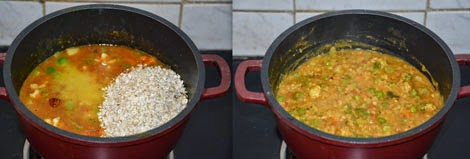 Oats Bisi Bele Bath Recipe