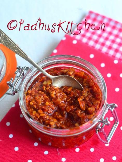 Schezwan Sauce-Schezwan Chutney