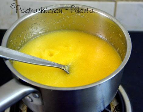 how to cook polenta