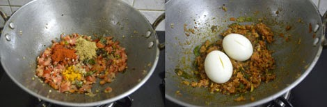 How to make South Indian-egg thokku