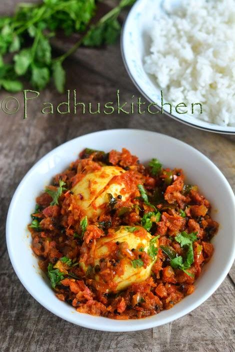 Egg Thokku-Muttai Thokku