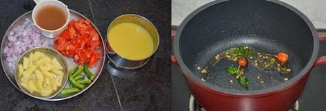 how to make moong dal sambar