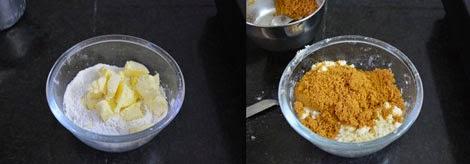 preparing millet biscuits