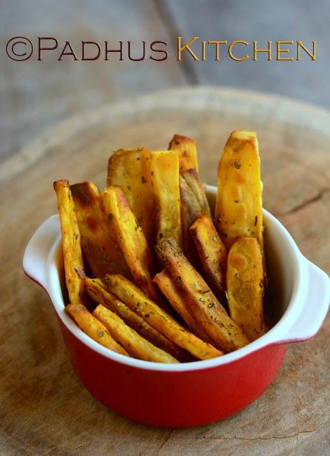 Baked Sweet Potato Wedges Sweet Potato Recipes Easy Snacks Recipes Padhuskitchen