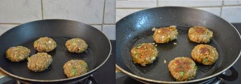 Mushroom Oats Tikki