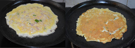 how to make omelet sandwich