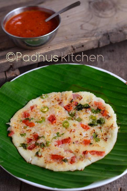 Rava Uttapam-Instant Sooji Uttapam