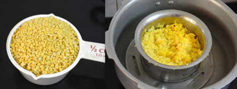 moong dal-cooked dal