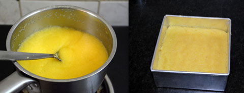 How to cook polenta