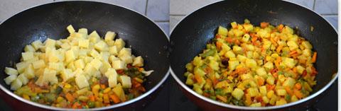 Polenta upma recipe