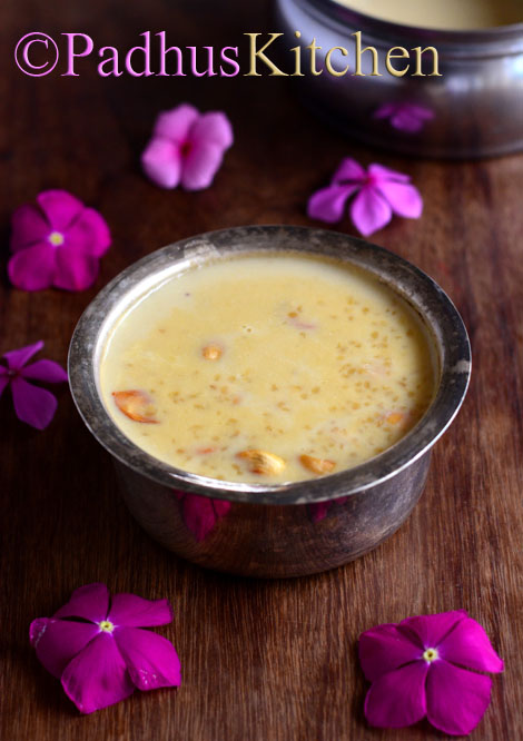 Cracked Wheat Payasam-Broken Wheat Kheer-Gothumai Rava Payasam