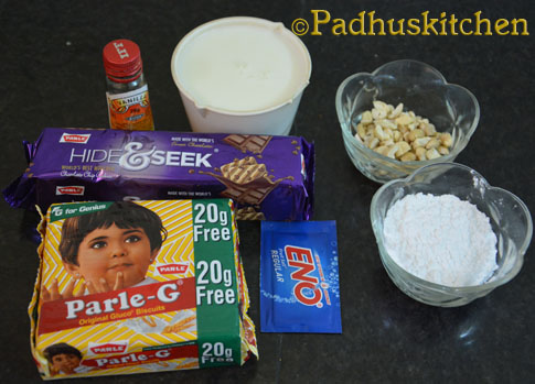 ingredients needed for biscuit cake