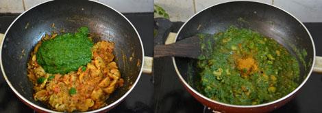 Spinach Mushroom Curry