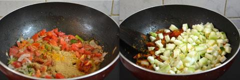how to make ridge gourd gravy