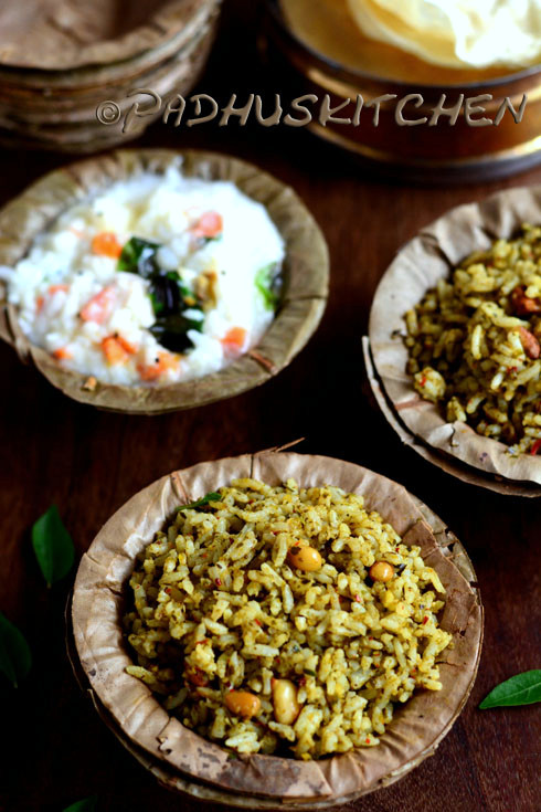 Karuveppilai Sadam-Curry Leaf Rice