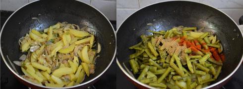 gawar sabji recipe