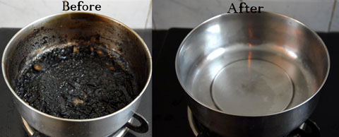 How To Clean Burnt Pots And Pans Tips Stainless