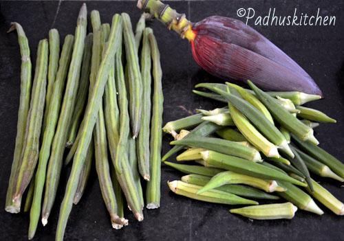 harvest from kitchen garden