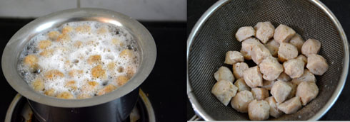 cooking soya chunks