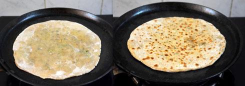 soya kheema paratha recipe