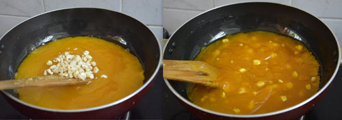 how to prepare custard powder halwa