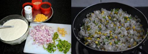 Mixed millet Thinai-Varagu-Kuthiraivaali Kara Kuzhi Paniyaram