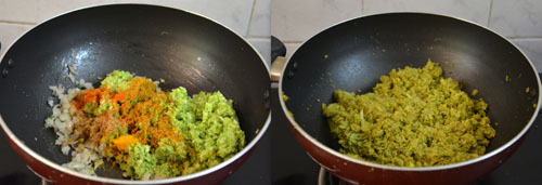 broccoli paratha stuffing