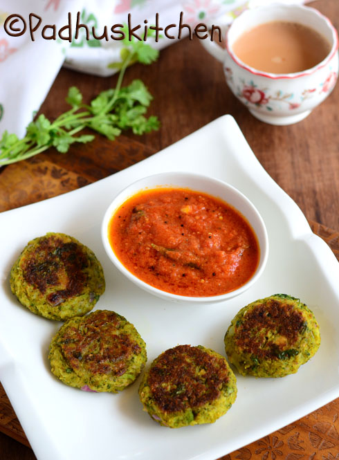 Broccoli Cutlet