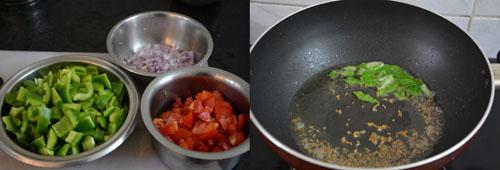 capsicum gravy preparations