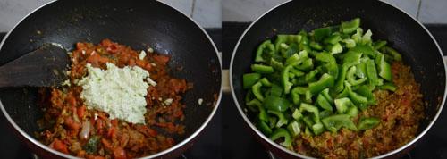 capsicum masala gravy