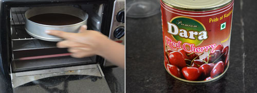 preparation of cherries