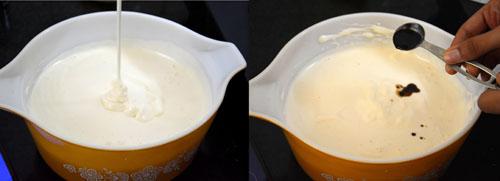 adding vanilla extract
