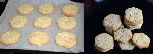 Eggless Cashew nut Biscuits
