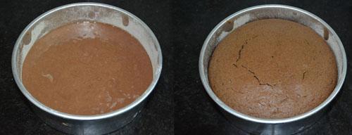 Eggless Whole Wheat Oats Cake recipe