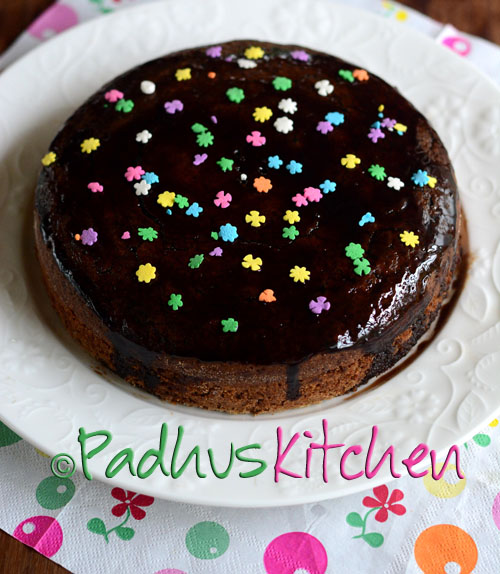 Whole Wheat Oats Cake