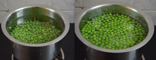 How to Blanch and Freeze Peas