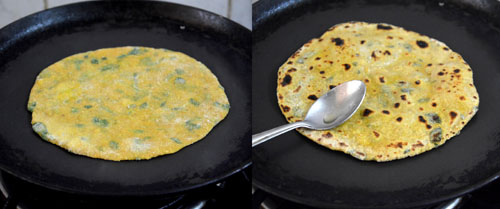 Gujarathi methi thepla