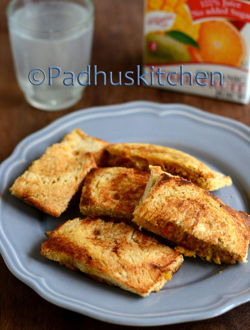 Soya Kheema Sandwich