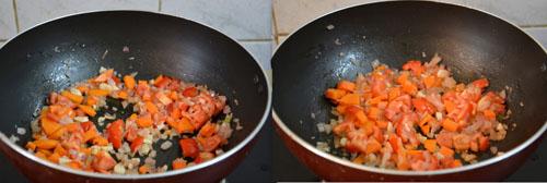 sauteing tomatoes