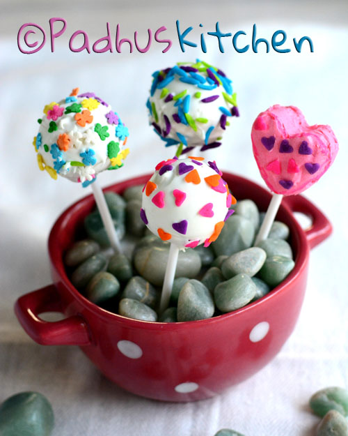 cake pops with sprinkles