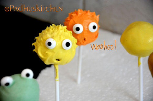 cake pops decoration