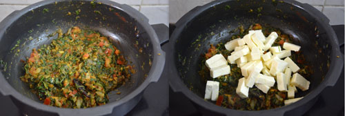 how to make methi paneer