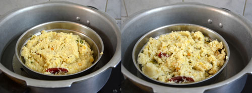 Thinai Rava Upma Recipe