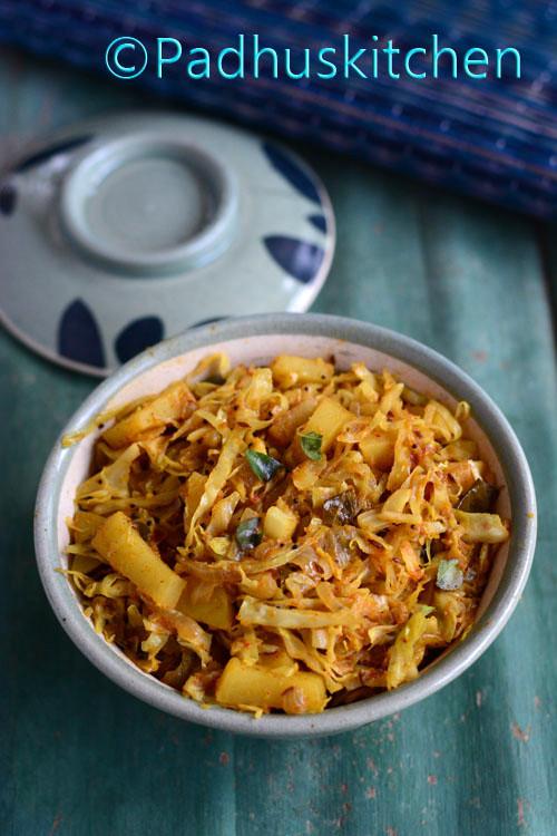 Cabbage Potato Curry-Aloo Patta Gobhi Sabzi