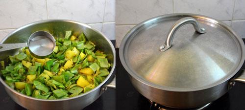 Avarakkai Urulai Kizhangu Curry