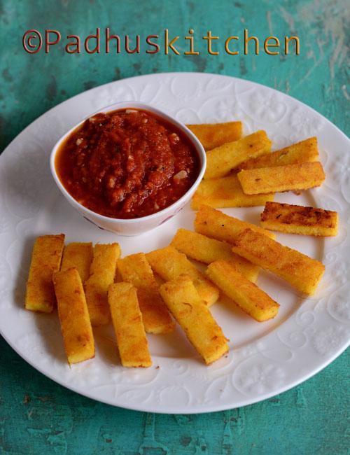 >Polenta Chips-Polenta Sticks