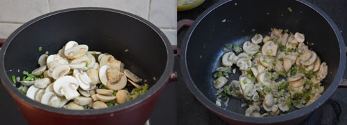 how to make mushroom frittata