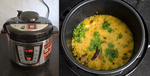 Gujarati  Khichdi using REDMOND's Pressure Smart Multicooker